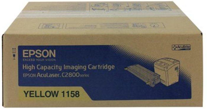 Epson Epson S0511 Yellow Toner Cartridge High Capacity C13S051158 / S051158