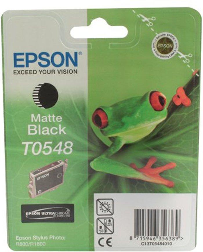Epson Epson T0548 Matte Black Inkjet Cartridge C13T05484010 / T0548
