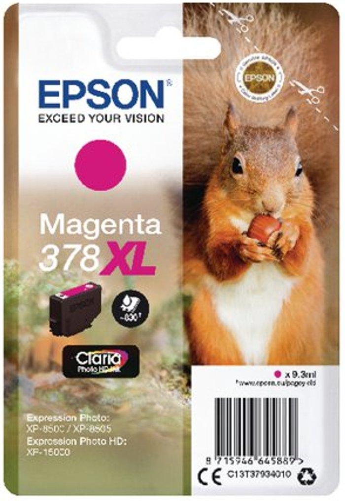 Epson Epson 378XL Magenta Photo HD Inkjet Cartridge C13T37934010