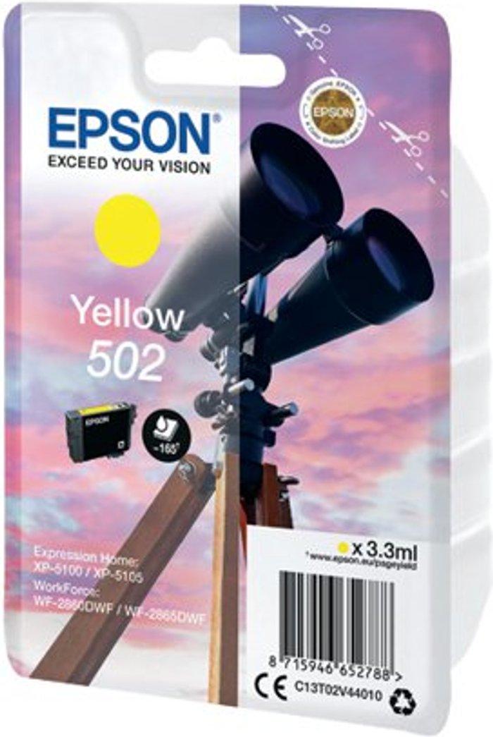Epson Epson Singlepack 502 Ink Yellow C13T02V44010