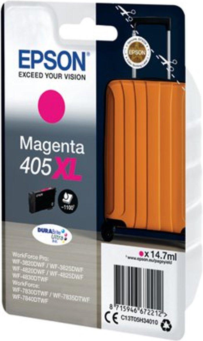 Epson Epson 405XL Ink Cartridge Magenta C13T05H34010