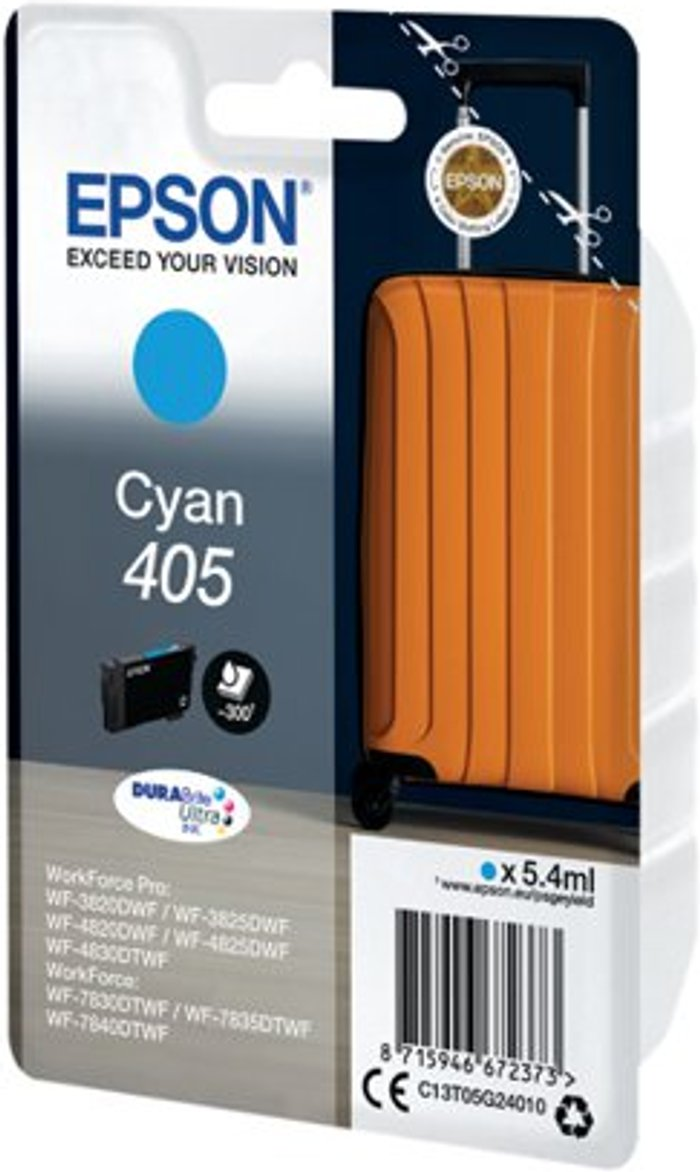 Epson Epson 405 Ink Cartridge Cyan C13T05G24010