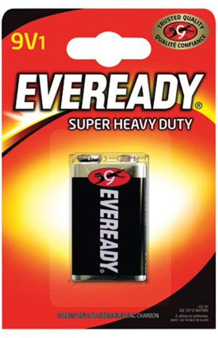 Eveready Eveready Super Heavy Duty Battery 9V 6F22BIUP