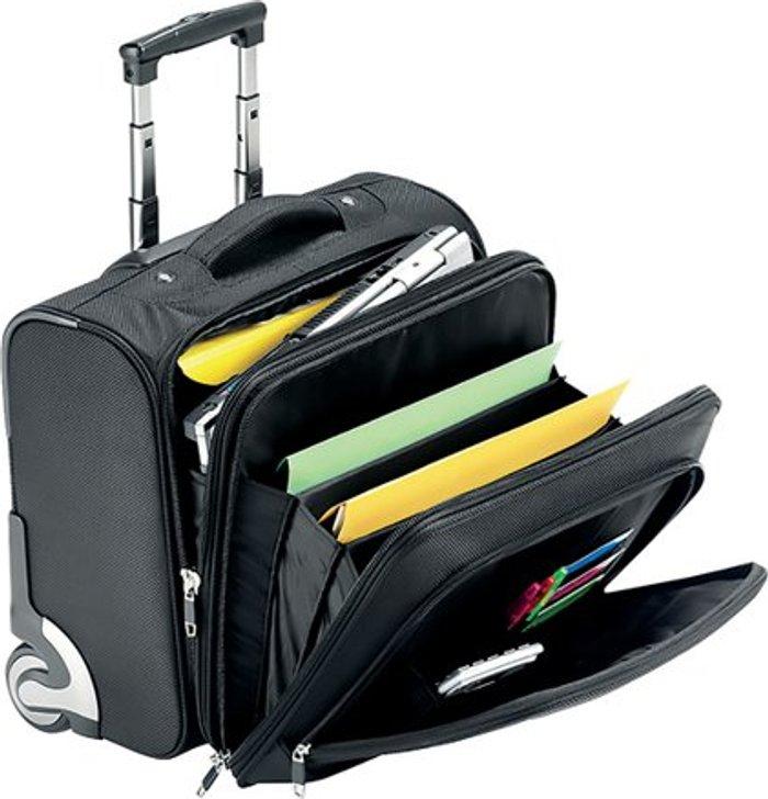 Falcon Falcon Mobile Laptop Business Trolley Case Black 2567T