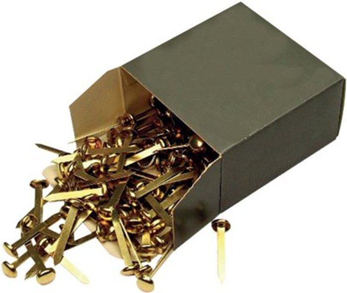 Essentials Brass Paper Fastener 40mm (Pack of 200) 36671