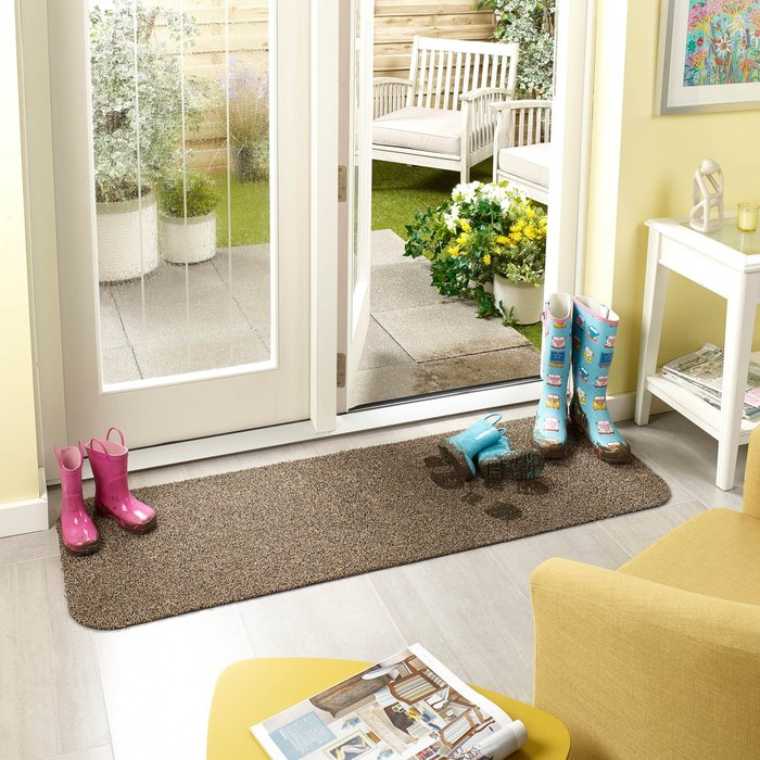 Marvel Mat Marvel Mats Washable Doormat Brown