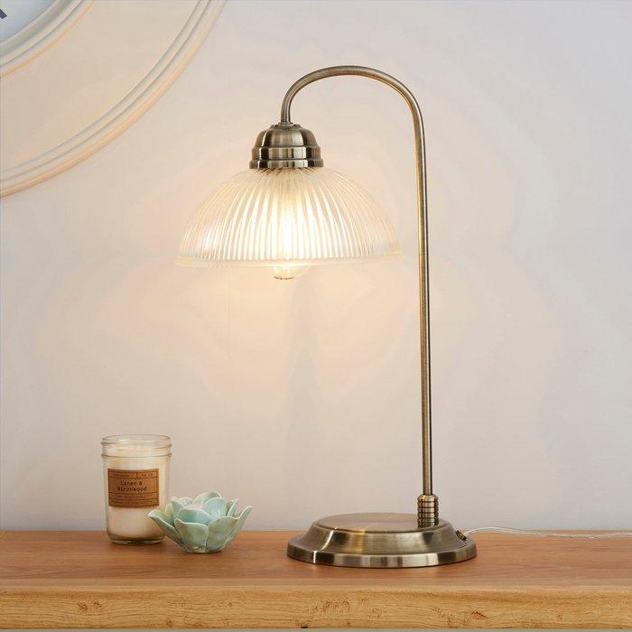 Dunelm Henry Antique Brass Table Lamp Antique (Brass)