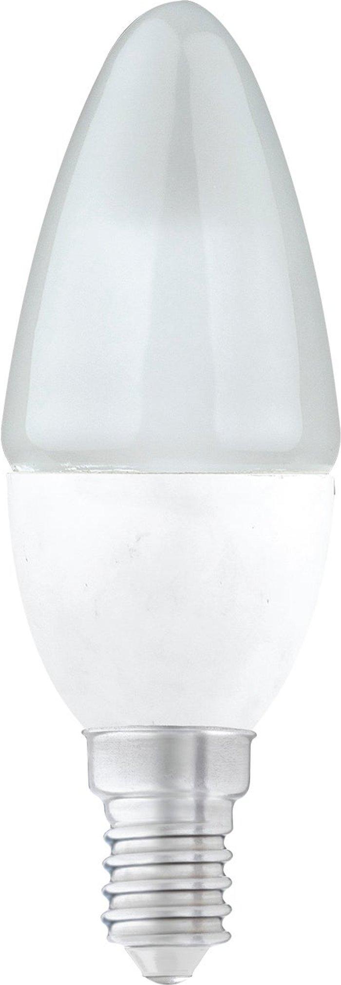 Dunelm Dunelm 4 Watt SES Pearl LED Candle Bulb 3 Pack White