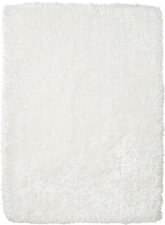Dunelm Montana Shaggy Runner White