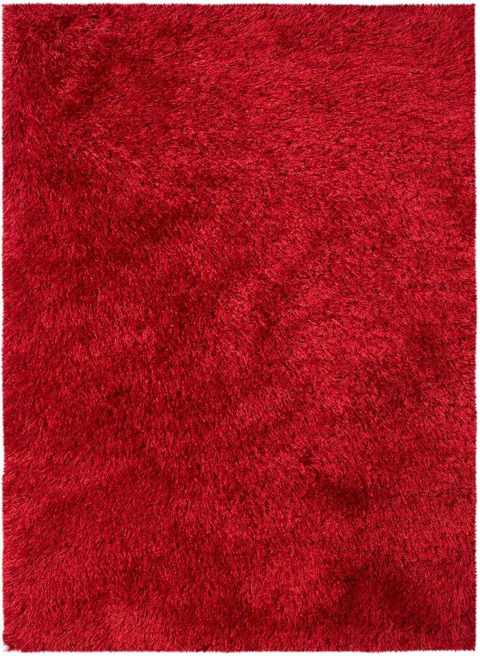Dunelm Montana Shaggy Rug Red