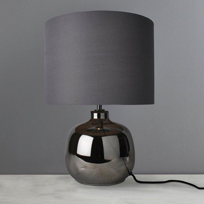 Dunelm Fulda Chrome Table Lamp Chrome