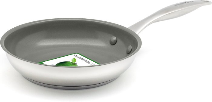 GreenChef GreenChef Profile Plus Open 24cm Frying Pan Silver