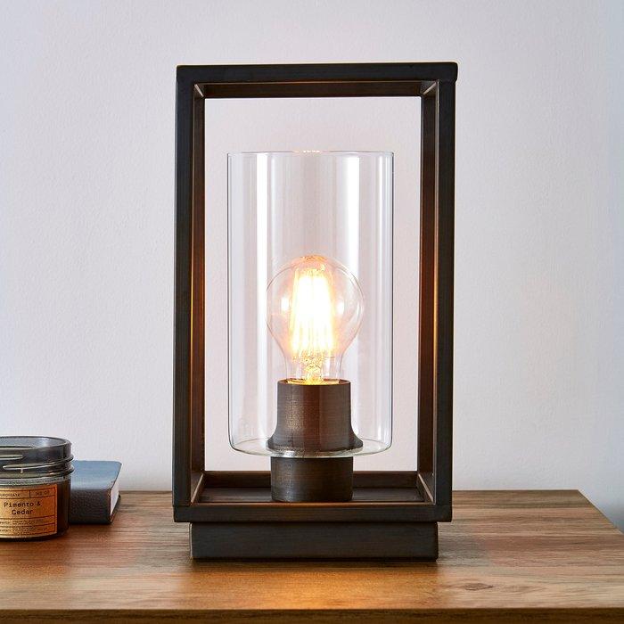 Dunelm London Bronze Industrial Table Lamp Bronze