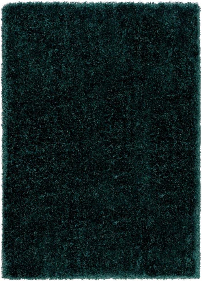 Dunelm Jewel Shaggy Rug Jewel Emerald (Green)