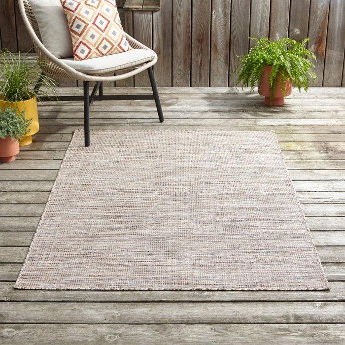 Dunelm Jute Indoor Outdoor Rug Natural (Brown)