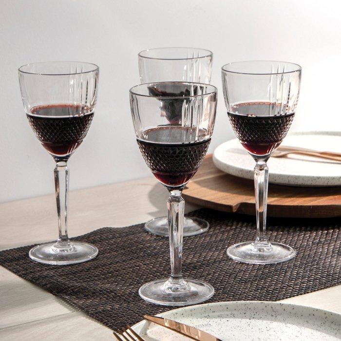 Dunelm Maxwell & Williams Verona 225ml Wine Glass Set of 4 Clear