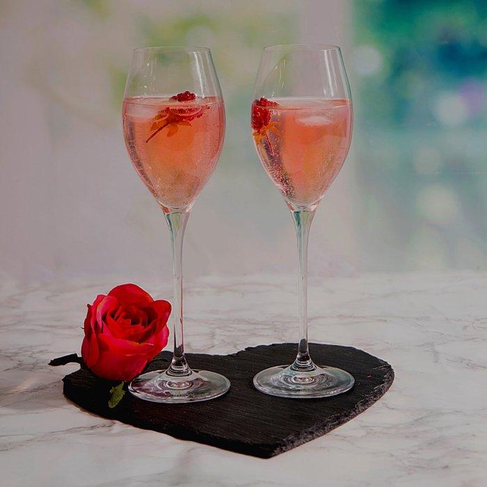 Dunelm Maxwell & Williams Vino 280ml Prosecco Glasses Set of 6 Clear