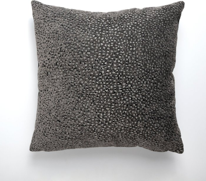 Dunelm Luxe Shimmer Cover Charcoal