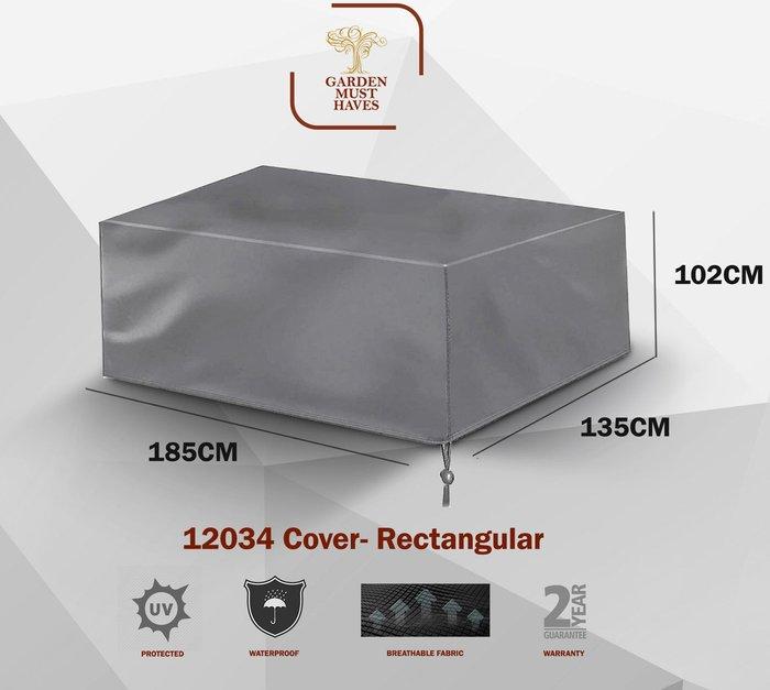 Handpicked 4 Seater Lounge Set Cover Dark Grey
