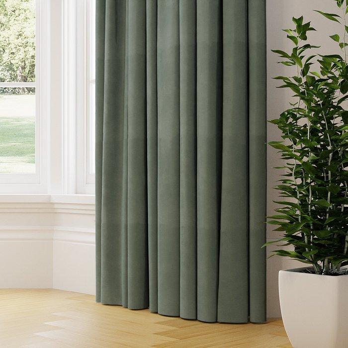 Made to Measure Nevis Made to Measure Curtains Nevis Jacquard Jade