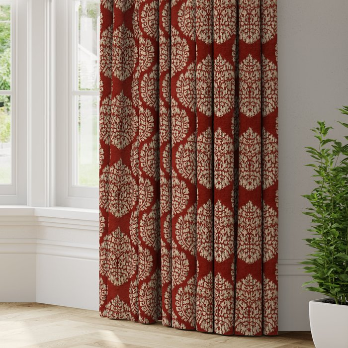 Made to Measure Marcello Made to Measure Curtains Marcello Terracotta