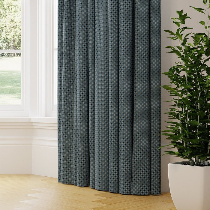 Made to Measure Orpheus Made to Measure Curtains Orpheus Blue