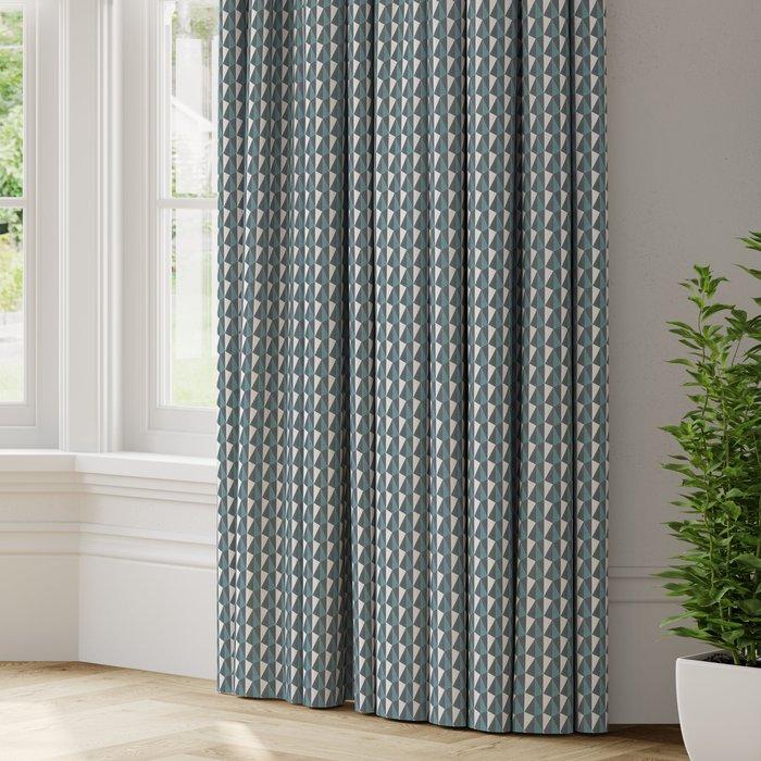 Made to Measure Shard Made to Measure Curtains Shard Aqua
