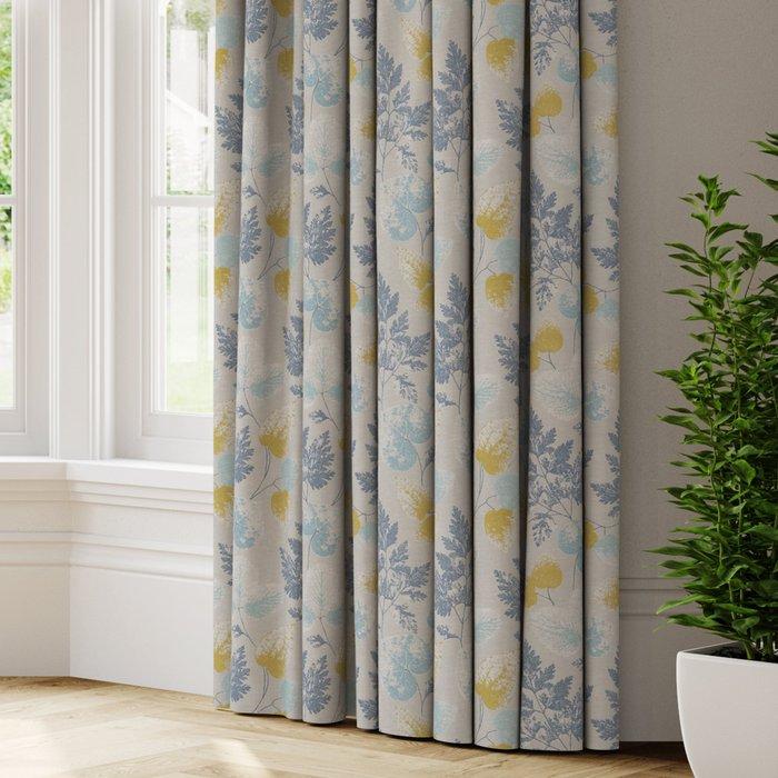 Made to Measure Olea Made to Measure Curtains Olea Indigo