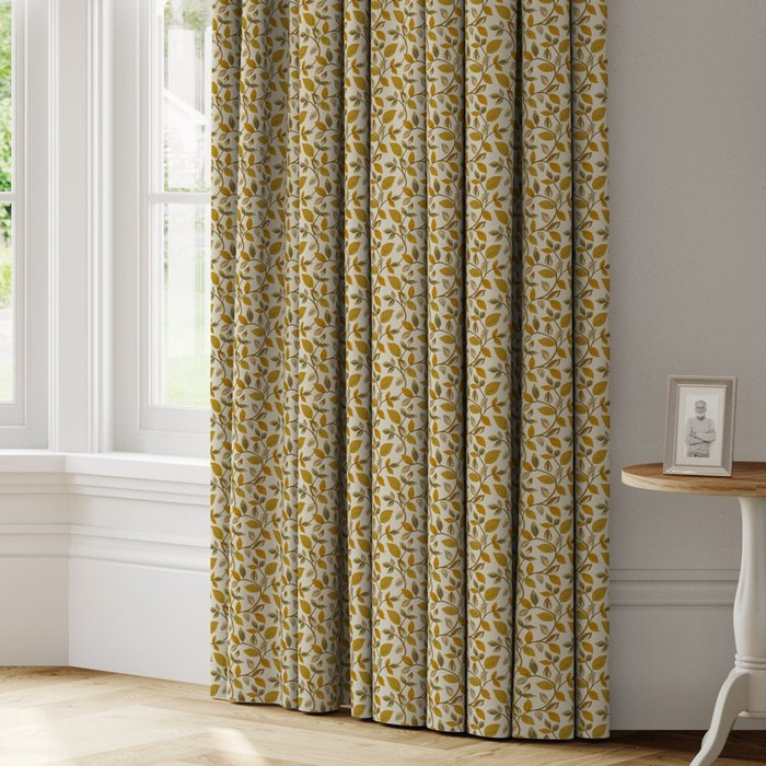 Made to Measure Vercelli Made to Measure Curtains Vercelli Ochre