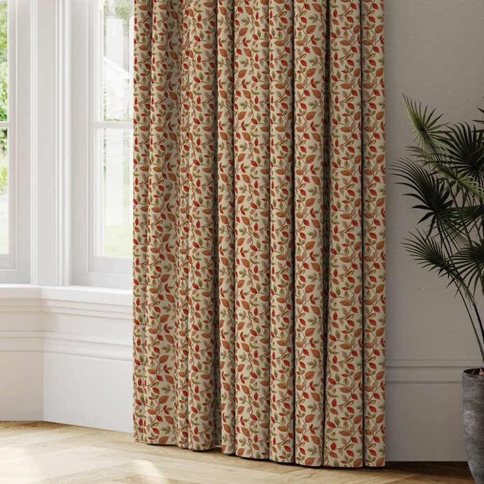 Made to Measure Vercelli Made to Measure Curtains Vercelli Burnt Orange