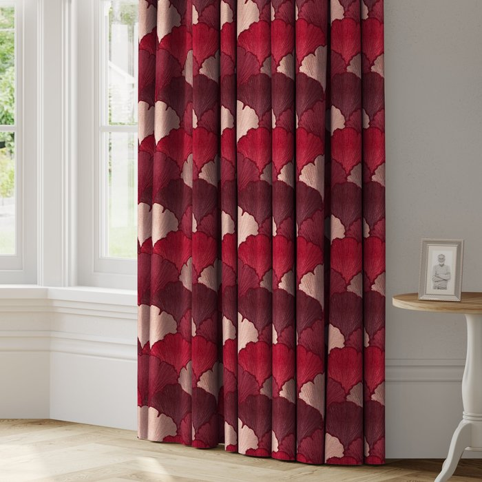 Made to Measure Pamplona Made to Measure Curtains Pamplona Rosso