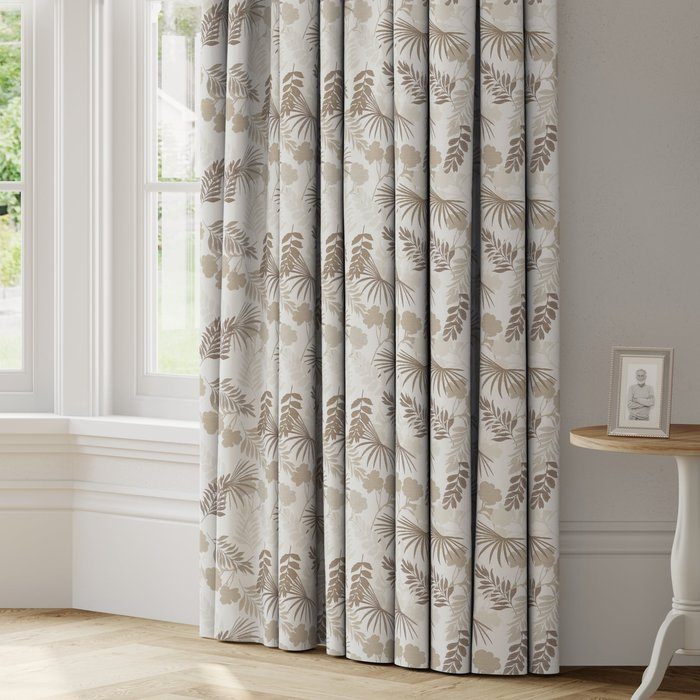 Made to Measure Tropical Made to Measure Curtains Tropical Natural