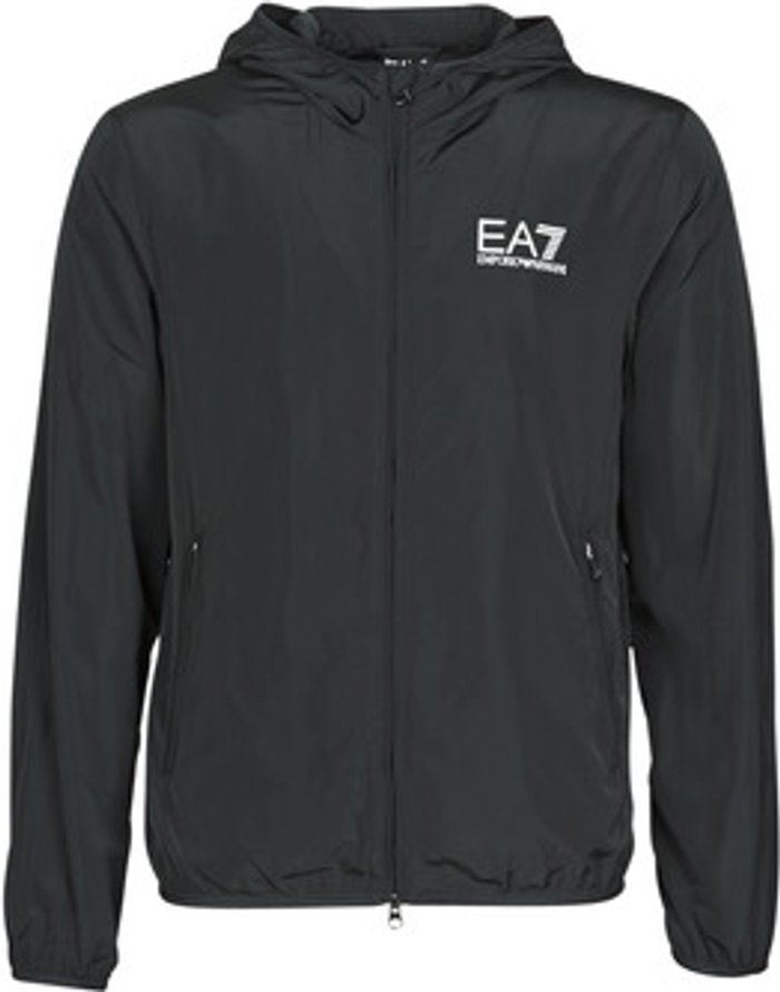 Emporio Armani EA7 Emporio Armani EA7  TRAIN CORE ID M JACKET  men's  in Black. Sizes available:XXL,M,L,XL,UK M,UK L,UK XL