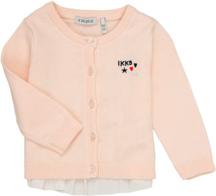 Ikks Ikks  ADIL  girls's  in Pink. Sizes available:3 months,6 months,12 mois,18 months,2 years