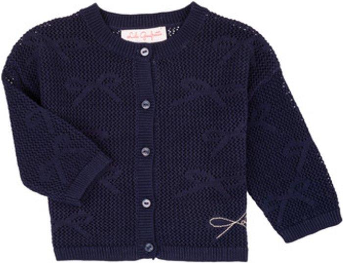 Lili Gaufrette Lili Gaufrette  NANETTE  girls's  in Blue. Sizes available:3 months,6 months,9 months,12 mois,18 months