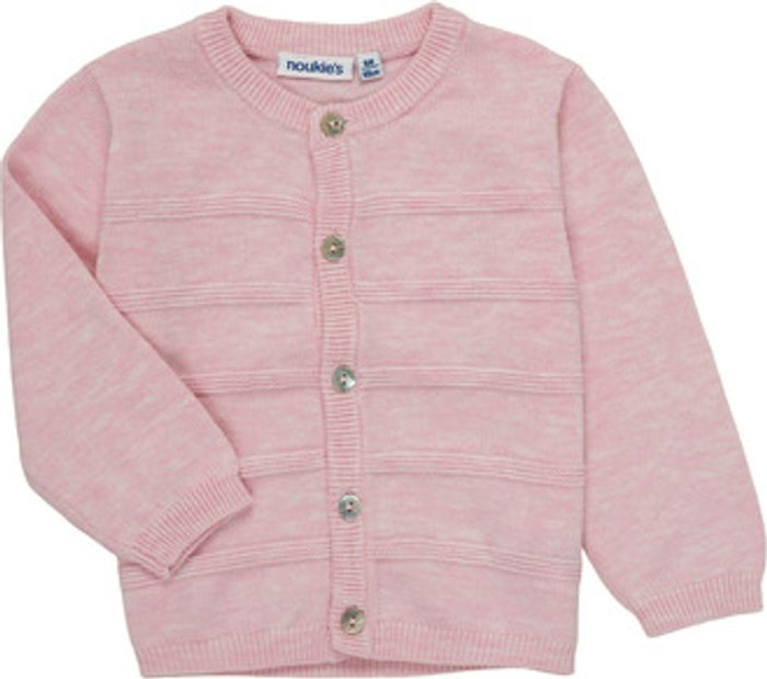 Noukie's Noukie's  NOAM  girls's  in Pink. Sizes available:3 months,6 months,12 mois,18 months,1 month