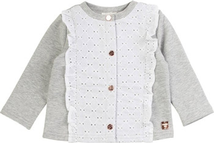 Carrément Beau Carrément Beau  ISA  girls's  in Grey. Sizes available:3 months,6 months,9 months,12 mois,18 months