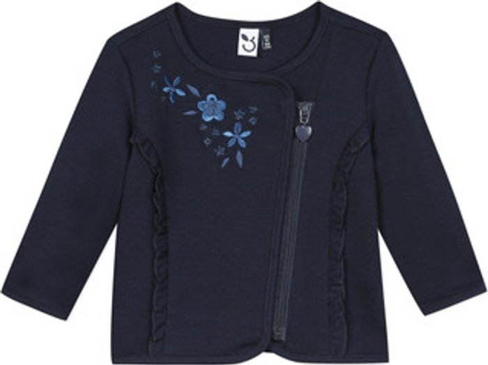 3 Pommes 3 Pommes  TEVAI  girls's  in Blue. Sizes available:12 / 18 months,6 / 9 months,18 mois / 2 ans