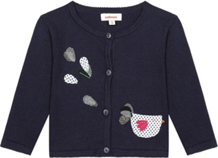 Catimini Catimini  LOUNA  girls's  in Blue. Sizes available:6 months,9 months,12 mois