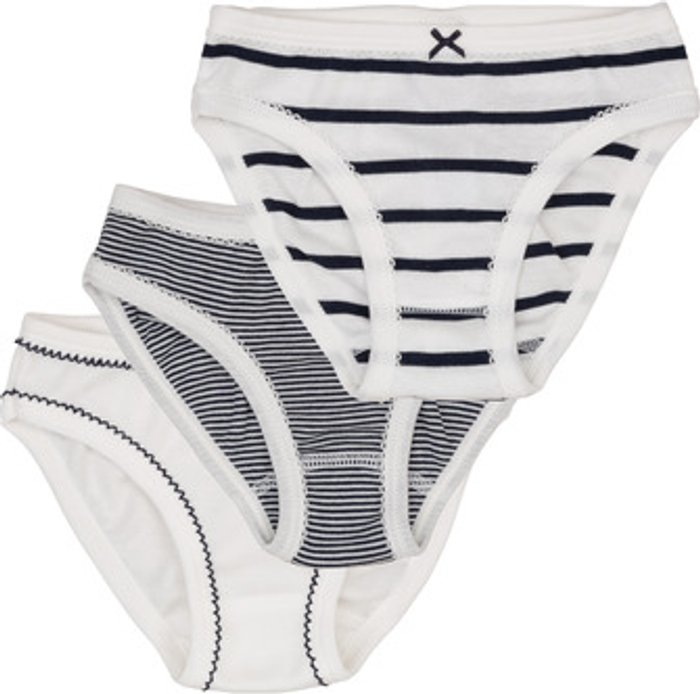 Petit Bateau Petit Bateau  53308  girls's Knickers/panties in Multicolour. Sizes available:3 ans,4 years