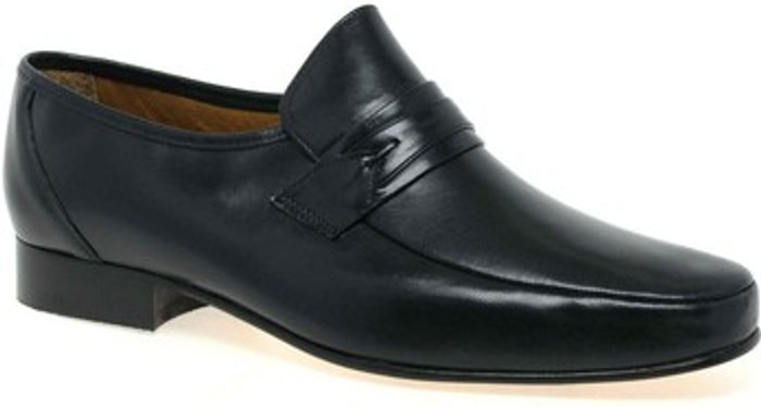 Rombah Wallace Rombah Wallace  Regent Mens Slip On Formal Shoes  men's  in Black. Sizes available:7.5,8,9,10,11,12