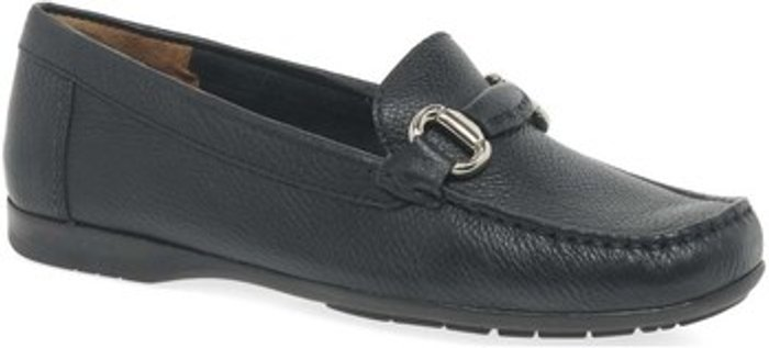 Charles Clinkard Charles Clinkard  Rosela Womens Moccasins  women's  in Black. Sizes available:3,4,5,6,7,8,9