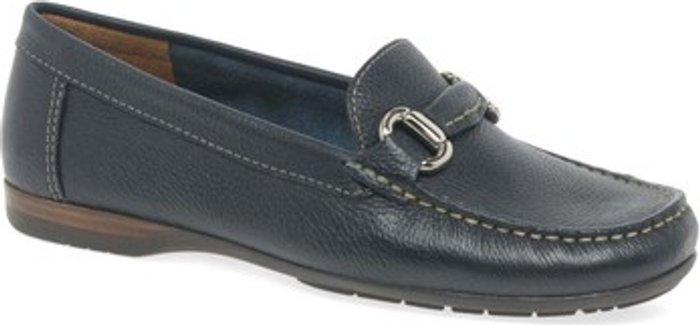 Charles Clinkard Charles Clinkard  Rosela Womens Moccasins  women's  in Blue. Sizes available:3,4,5,6,7,8,9
