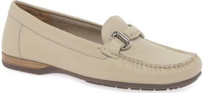 Charles Clinkard Charles Clinkard  Rosela Womens Moccasins  women's  in Beige. Sizes available:4,5,6