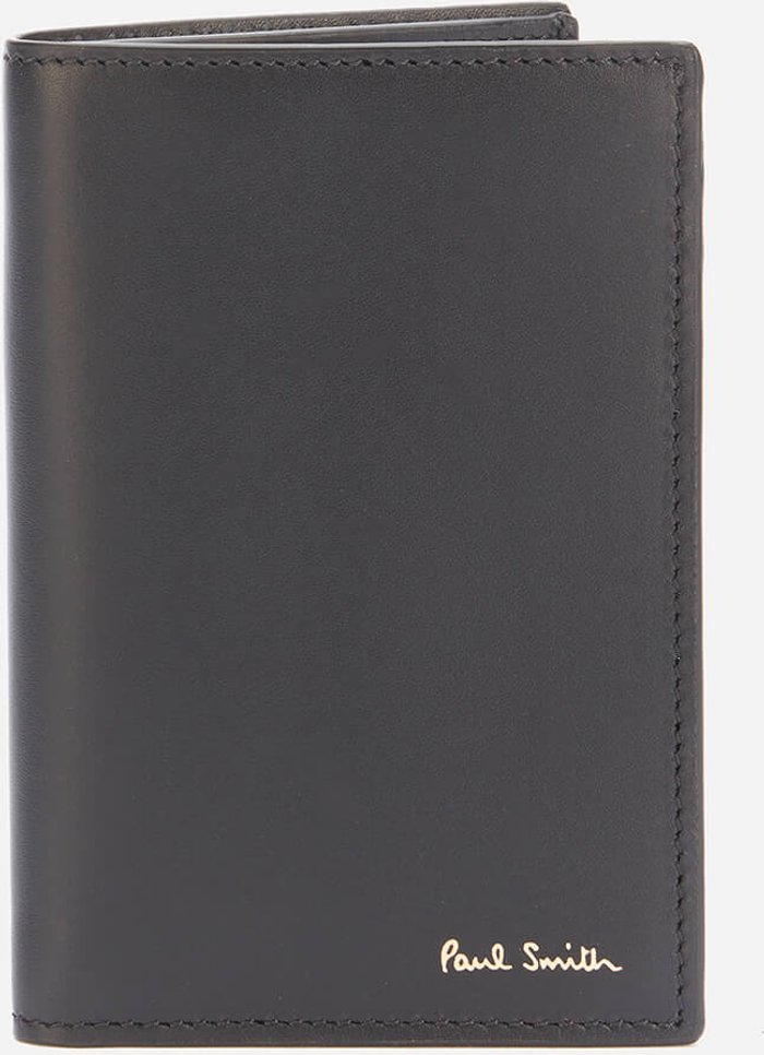 PS Paul Smith PS Paul Smith Men's Naked Lady Credit Card Wallet - Black