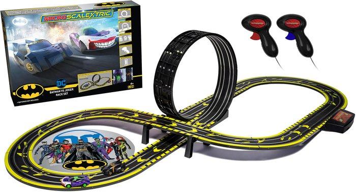 Scalextric Micro Scalextric Batman vs Joker Battery Powered Race Set