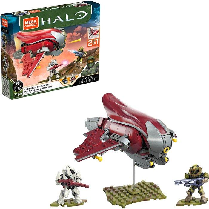 Mattel Mega Construx Halo Infinite Ghost Playset