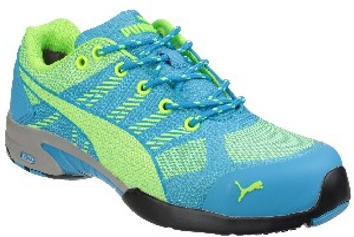 PUMA SAFETY Celerity Knit Lightweight Safety Trainers - Blue / 4