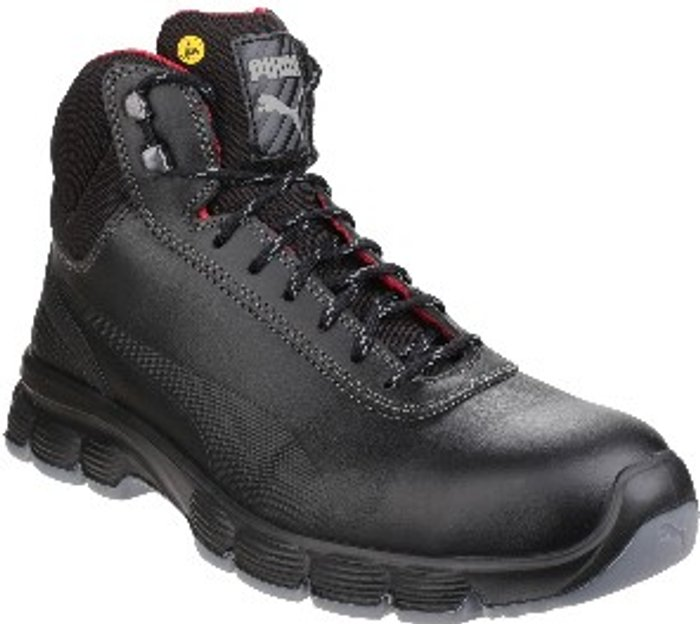 PUMA SAFETY Pioneer Mid Lace Up Safety Boot - Black / 10.5
