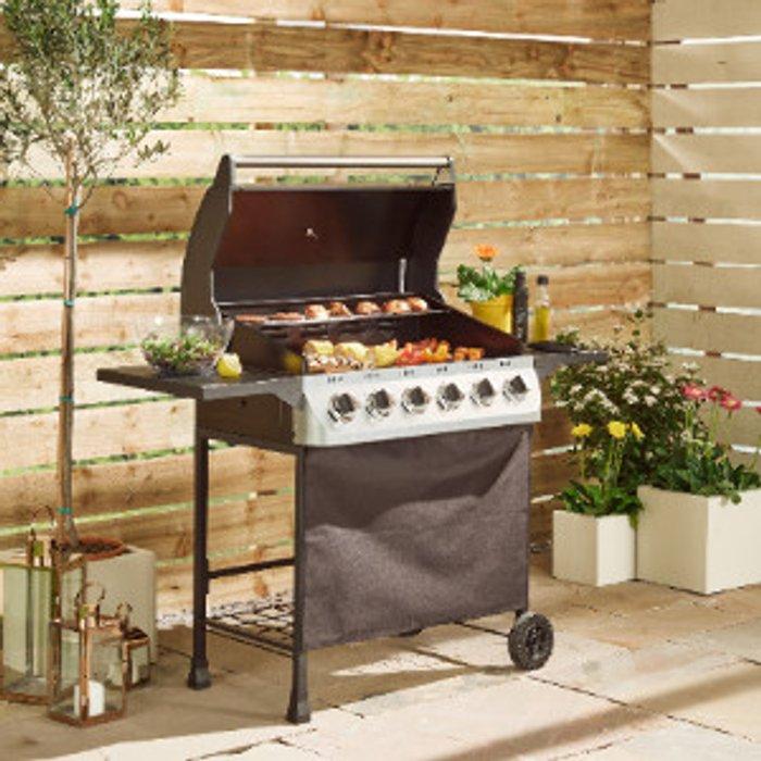 BBQ Chef Perth Six Burner Gas BBQ